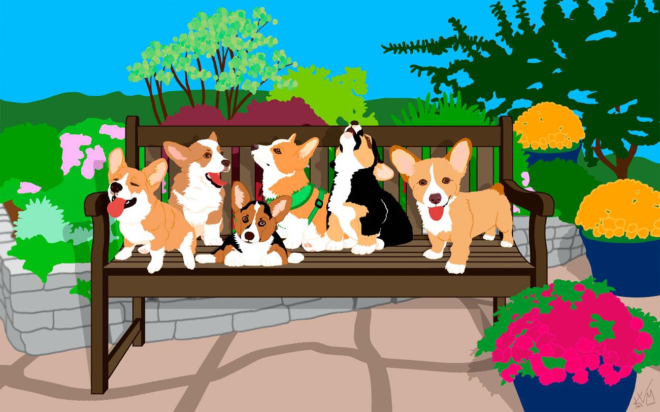 Bench-o-Pups (238)