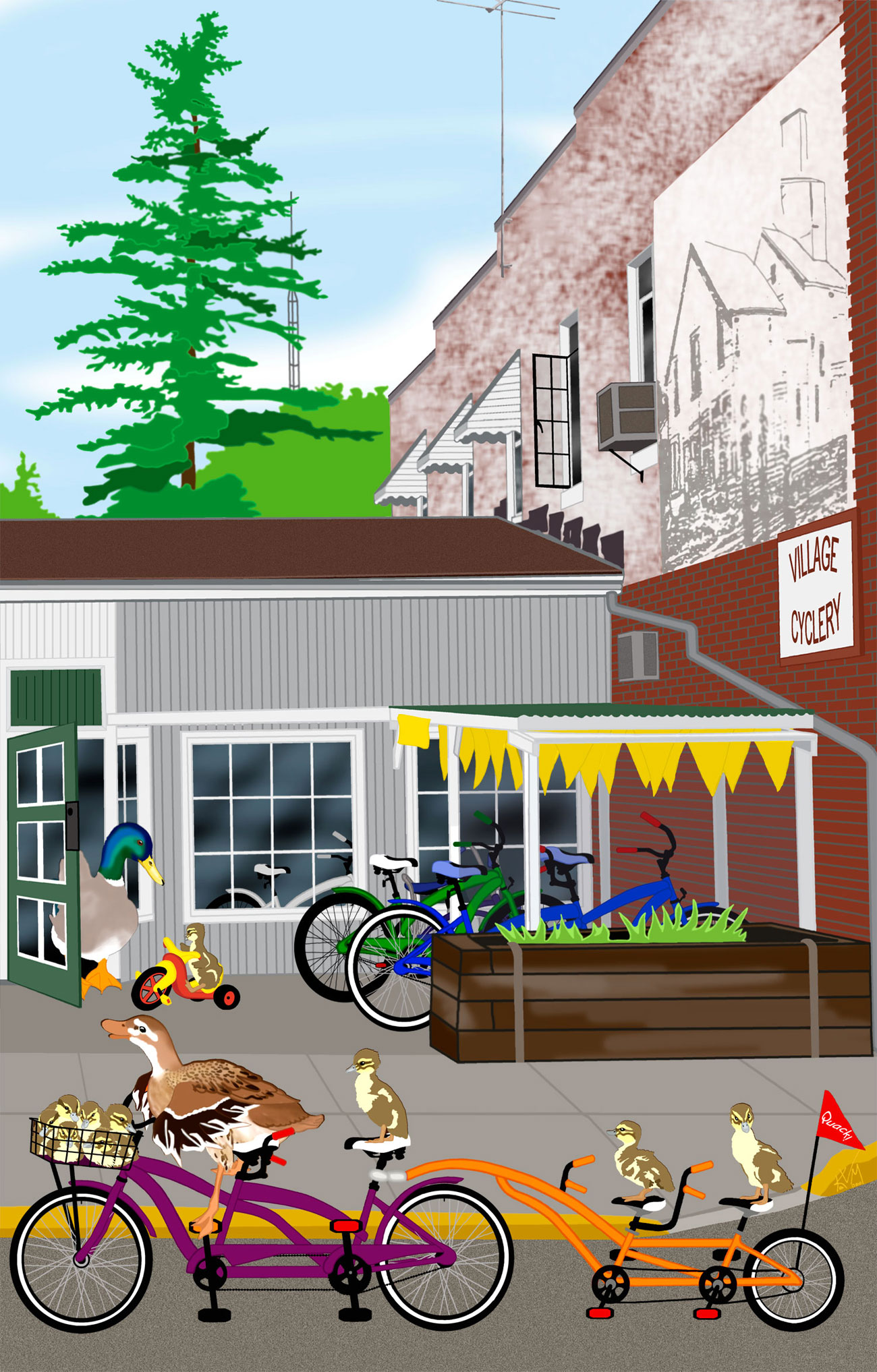You'll Look Sweet Upon the Seat ~ Village Cyclery (131)