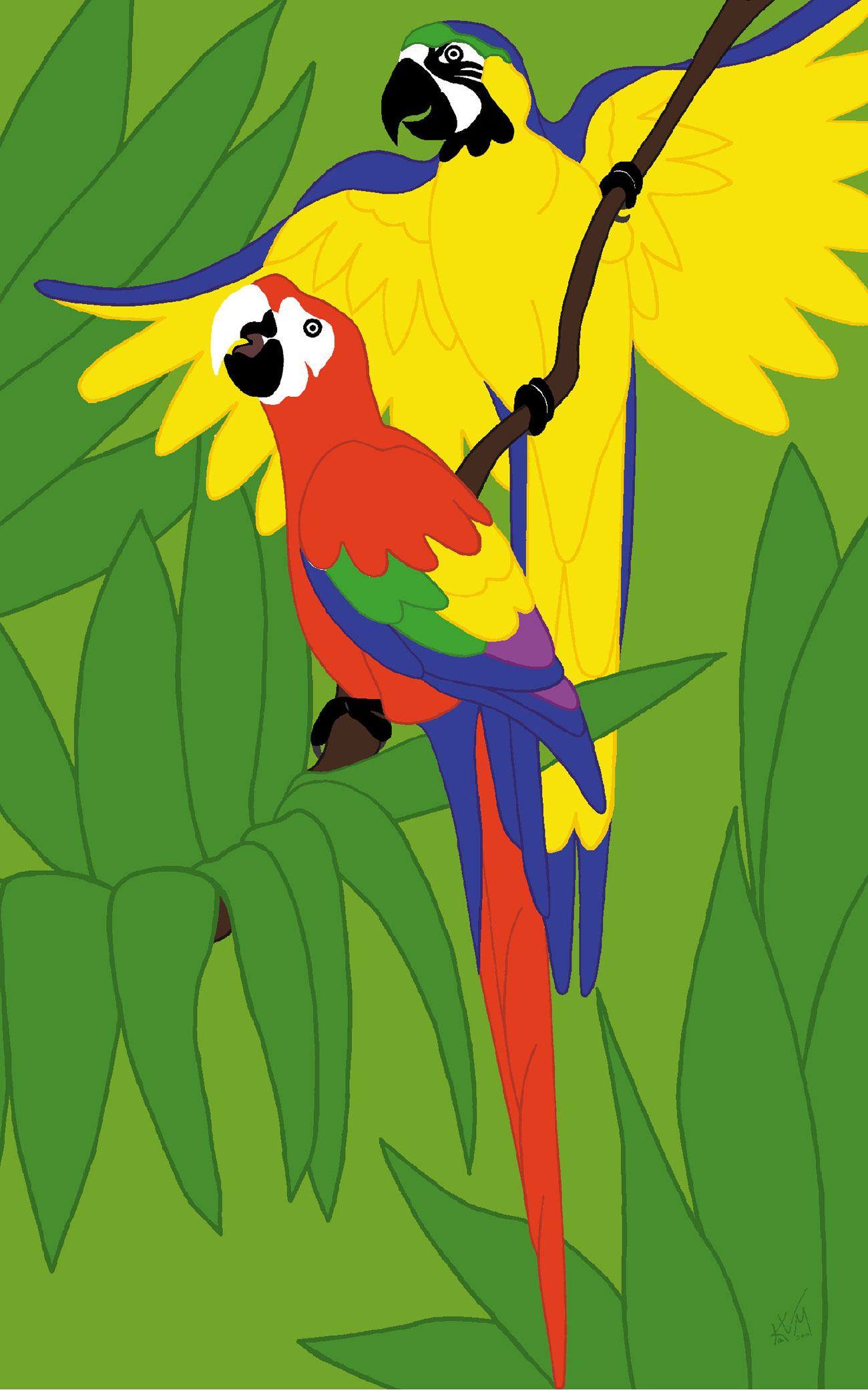 The Real Macaws (025)