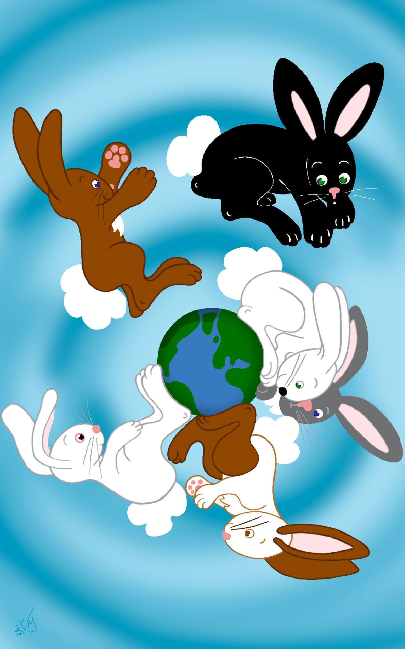 Bunnies 'round My Baby's World (026)