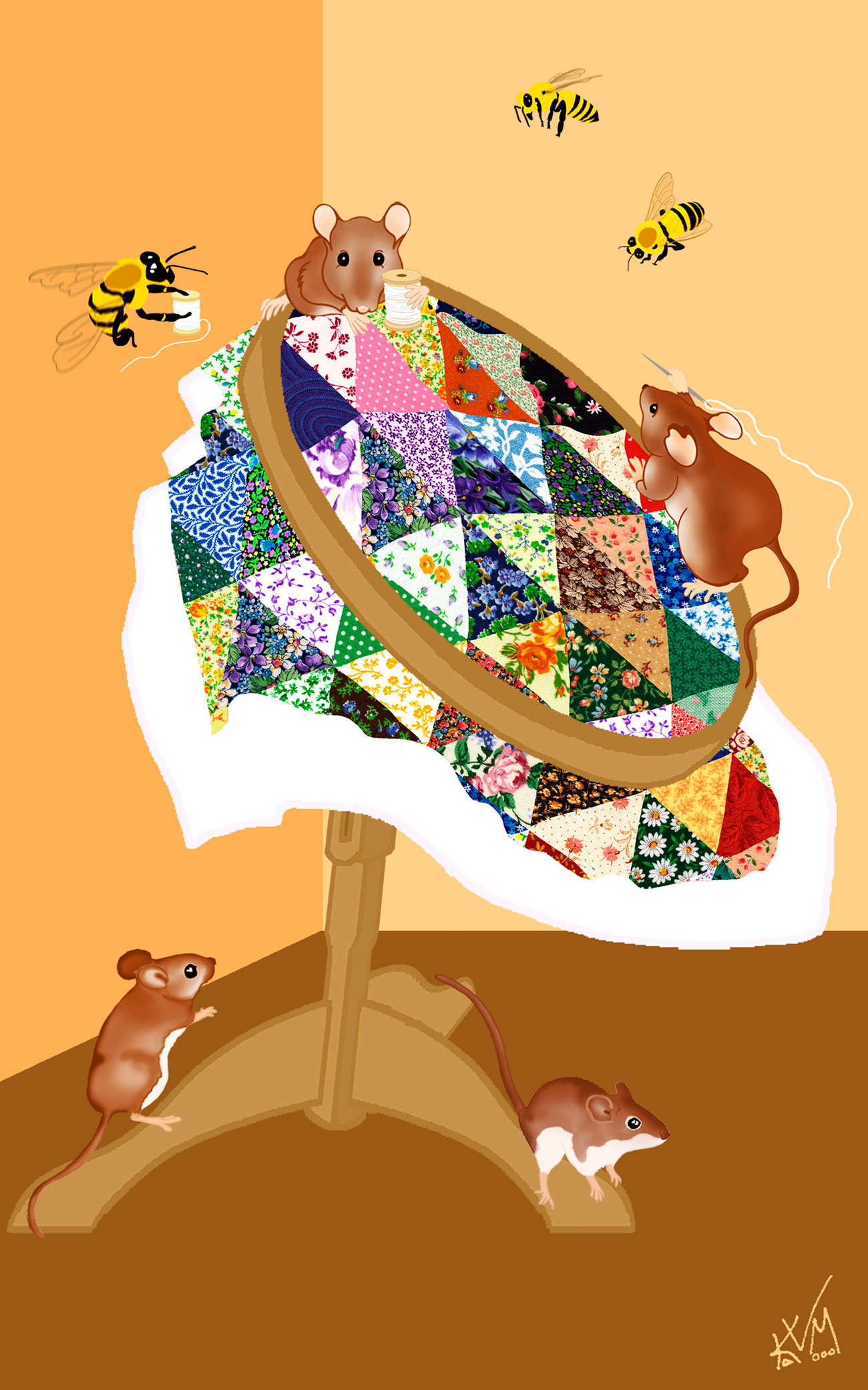Must Bee Quilting (302)