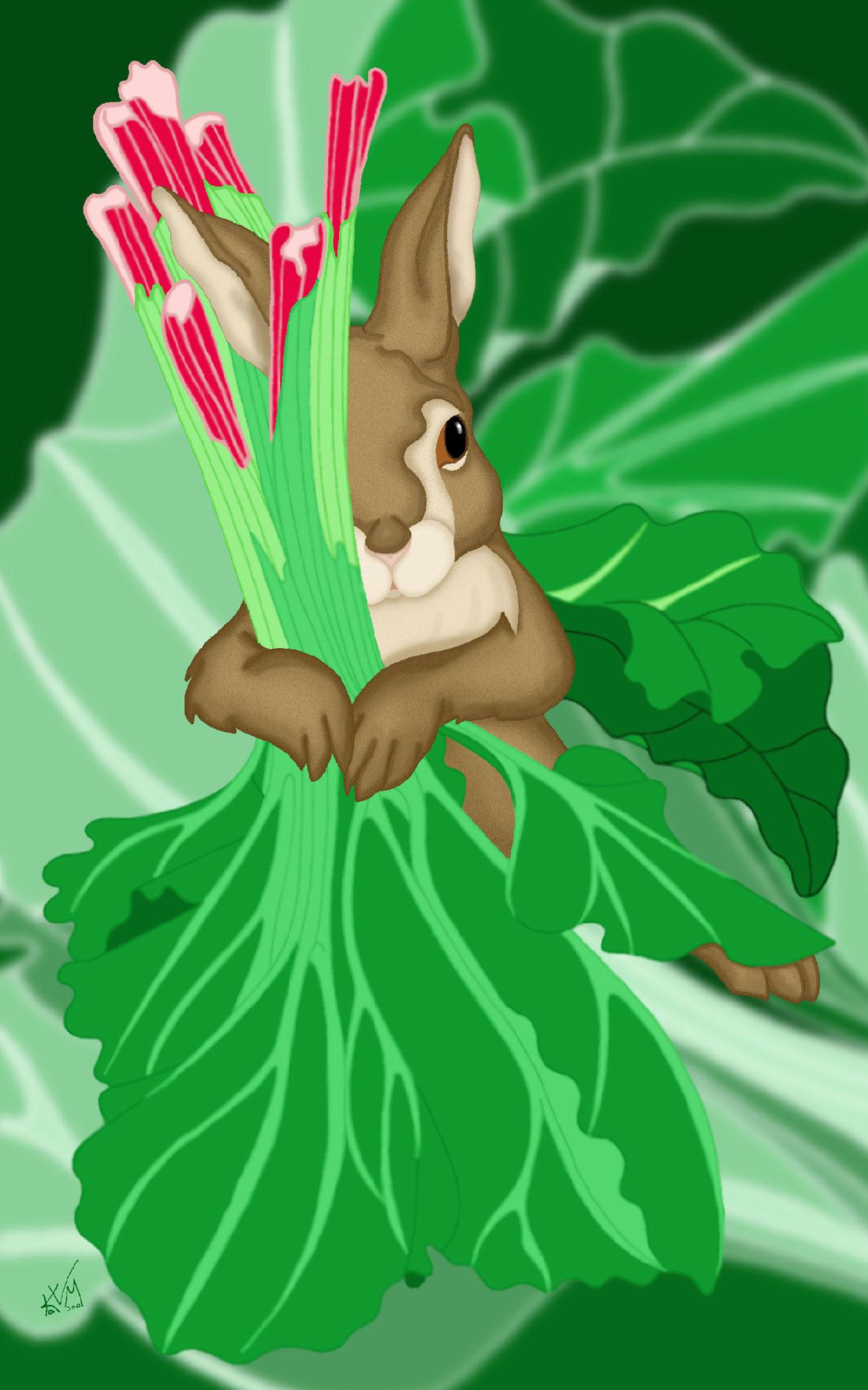 Rhubarb Rabbit (087)