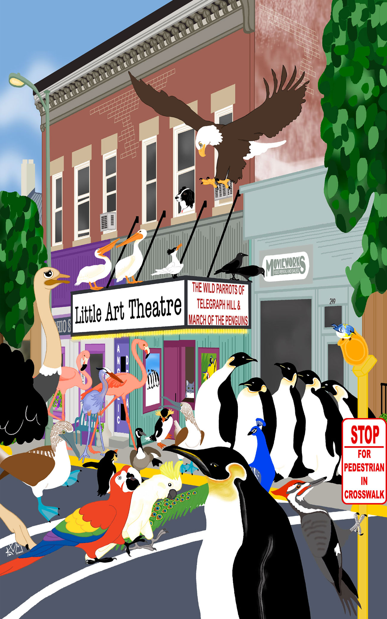 Flocking to the Movies ~ The Little Art Theatre (094)